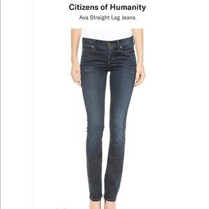 COH Jeans Ava low waist straight leg 28